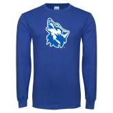 Royal Long Sleeve T Shirt-Wolf Head