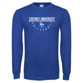 Royal Long Sleeve T Shirt-Volleyball Under Bar