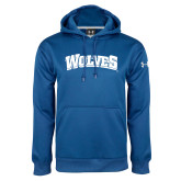 Under Armour Royal Performance Sweats Team Hoodie-Wolves