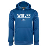 Under Armour Royal Performance Sweats Team Hoodie-Track and Field in Bar