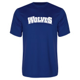 Performance Royal Tee-Wolves