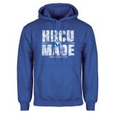 Royal Fleece Hoodie-HBCU Made