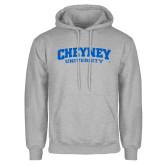 Grey Fleece Hoodie-Cheyney University