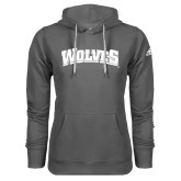 Adidas Climawarm Charcoal Team Issue Hoodie-Wolves