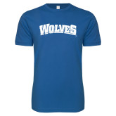 Next Level SoftStyle Royal T Shirt-Wolves