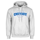 White Fleece Hoodie-Cheyney U