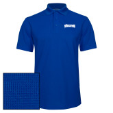 Royal Dry Zone Grid Polo-Wolves