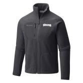 Columbia Full Zip Charcoal Fleece Jacket-Wolves