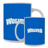 Full Color White Mug 15oz-Wolves