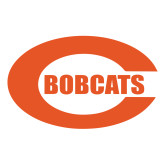 Large Decal-C - Bobcats, 12 inches wide