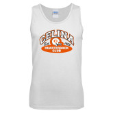 White Tank Top-Celina Quarterback Club