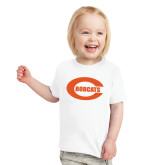 Toddler White T Shirt-C - Bobcats