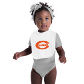 White Baby Bib-C - Bobcats