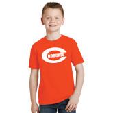 Youth Orange T Shirt-C - Bobcats