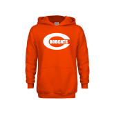 Youth Orange Fleece Hoodie-C - Bobcats