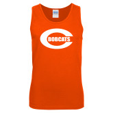 Orange Tank Top-C - Bobcats