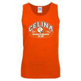 Orange Tank Top-Celina Quarterback Club