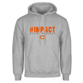 Grey Fleece Hoodie-#UNIFIED