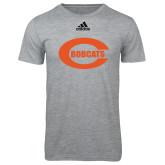 Adidas Sport Grey Logo T Shirt-C - Bobcats