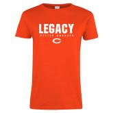 Ladies Orange T Shirt-#UNIFIED