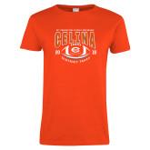 Ladies Orange T Shirt-District 7AAAA Playoffs