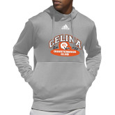 Adidas Grey Team Issue Hoodie-Celina Quarterback Club