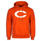 Orange Fleece Hoodie-C