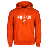 Orange Fleece Hoodie-#UNIFIED