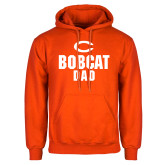 Orange Fleece Hoodie-Dad