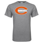 Grey T Shirt-C - Bobcats
