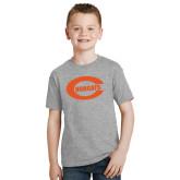 Youth Grey T Shirt-C - Bobcats