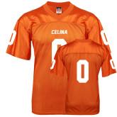 Replica Orange Adult Football Jersey-Personalized
