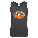 Charcoal Tank Top-Celina Quarterback Club