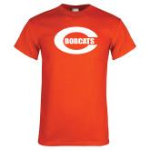 Orange T Shirt-C - Bobcats