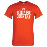 Orange T Shirt-Bobcat Country