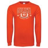 Orange Long Sleeve T Shirt-District 7AAAA Playoffs