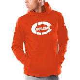 Under Armour Orange Armour Fleece Hoodie-C - Bobcats