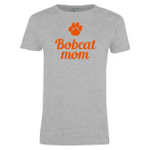 Ladies Grey T Shirt-Mom