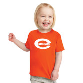 Toddler Orange T Shirt-C - Bobcats