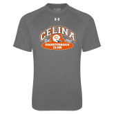 Under Armour Carbon Heather Tech Tee-Celina Quarterback Club