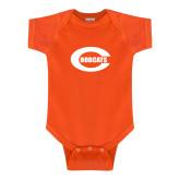 Orange Infant Onesie-C - Bobcats