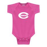 Fuchsia Infant Onesie-C - Bobcats