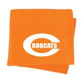 Orange Sweatshirt Blanket-C - Bobcats