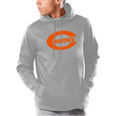 Under Armour Grey Armour Fleece Hoodie-C - Bobcats