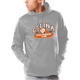 Under Armour Grey Armour Fleece Hoodie-Celina Quarterback Club