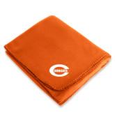 Orange Arctic Fleece Blanket-C - Bobcats