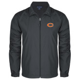 Full Zip Charcoal Wind Jacket-C