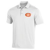 Under Armour White Performance Polo-C - Bobcats