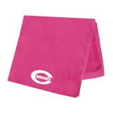 Pink Beach Towel-C - Bobcats