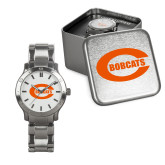 Mens Stainless Steel Fashion Watch-C - Bobcats